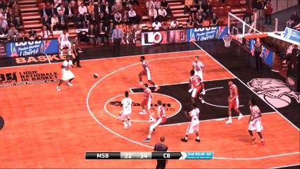MSB - Cholet 16e Finales Coupe De France Basket 2016/2017