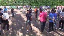 """Tournoi d'ouverture du """"Challenge des Trois Clochers"""", Sport Boules, Saint Jean Le Centenier 2016"""