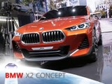 BMW X2 en direct du Mondial de l'Automobile de Paris 2016