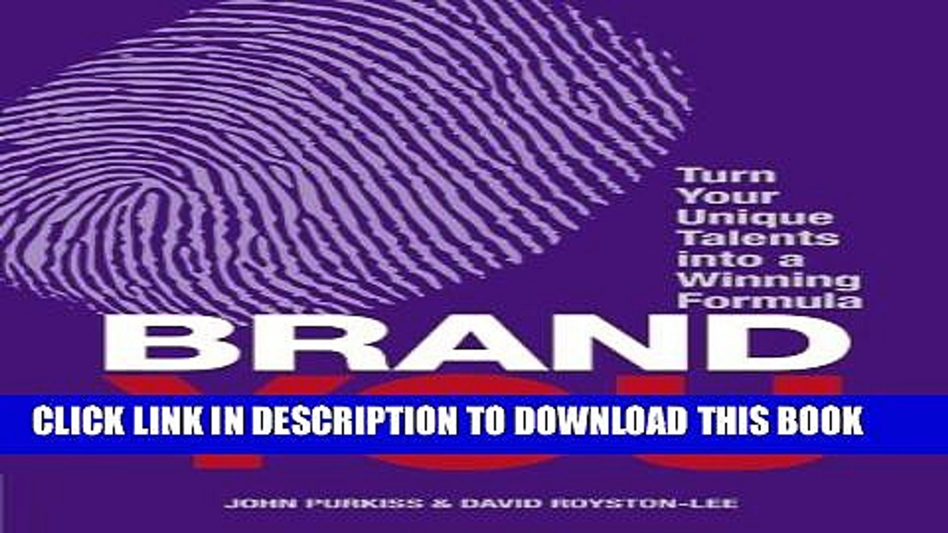 [PDF] Brand You: Turn Your Unique Talents into a Winning Formula (Financial Times Guides) Full