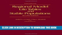 [Read PDF] Regional Model Life Tables and Stable Populations (Studies in population) Download Online