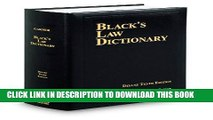 [PDF] BLACK S LAW DICTIONARY; DELUXE 10TH EDITION [Full Ebook]