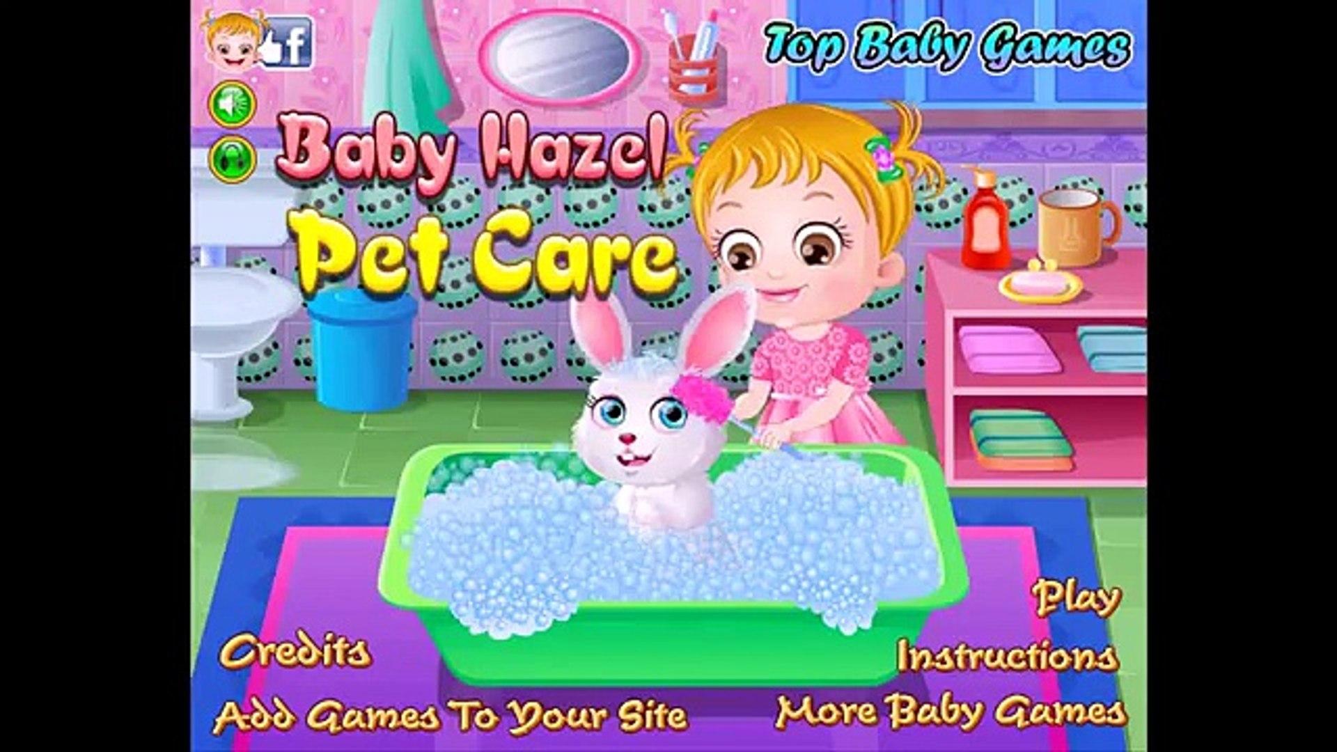 Baby Hazel Pet Care - Baby Hazel Games