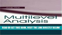 Read Now Multilevel Analysis: Techniques and Applications (Quantitative Methodology Series)