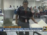 Maricopa County tests voting machines for accuracy