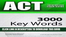 [PDF] ACT Interactive Flash Cards - 3000 Key Words. A powerful method to learn the vocabulary you