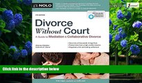 Big Deals  Divorce Without Court: A Guide to Mediation and Collaborative Divorce  Best Seller
