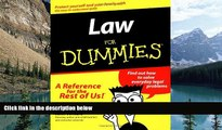Big Deals  Law For Dummies? (For Dummies (Lifestyles Paperback))  Full Ebooks Most Wanted