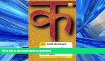 PDF Teach Yourself Hindi Dictionary (Teach Yourself Dictionaries