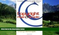 Big Deals  Copyright Plain   Simple  Best Seller Books Most Wanted