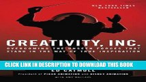 [Ebook] Creativity, Inc.: Overcoming the Unseen Forces That Stand in the Way of True Inspiration