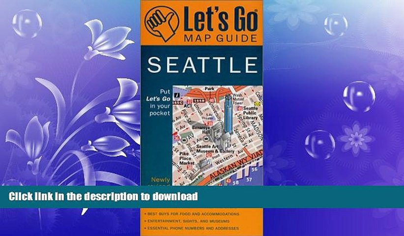 FAVORITE BOOK Let s Go Map Guide Seattle (2nd Ed.) (Let s Go: Costa Rica, Nicaragua, Panama) | Godialy.com