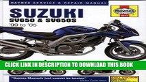 [PDF] Suzuki SV650   SV650S 1999 to 2005 (Haynes Service   Repair Manual) Popular Online
