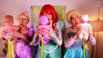 Frozen Elsa & Spiderman M&M CHALLENGE! w_ Maleficent Joker Anna Spidergirl Toys! Superhero Fun IRL - YouTube