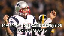 Roger Goodell Totally Cool Brady Got Four Games, Brown Got One