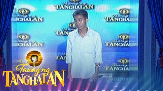 Tawag ng Tanghalan: Carlmalone Montecido gets the golden microphone!