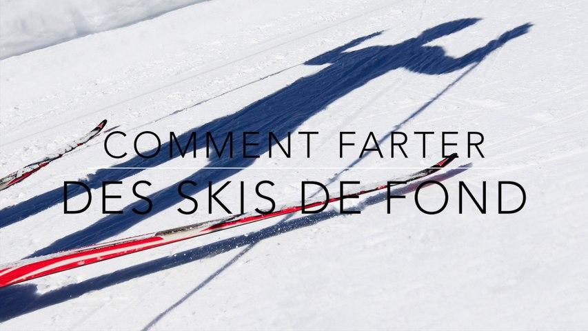 Comment Farter des Skis de Fond - Intro : Notions de fartage