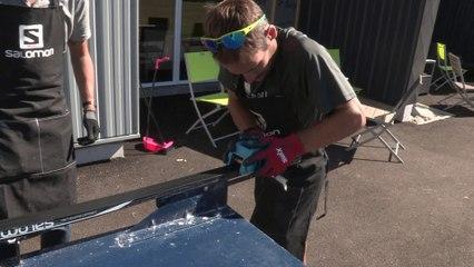 Comment Farter des Skis de Fond - Séquence 4 : application d'une structure manuelle