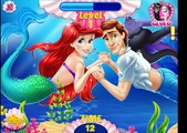 Disney Princess Ariel Kissing Underwater - Ariel And Eric Kissing Underwater Game For Kids New