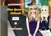 Permainan Dandan Elsa Pergi Ke Sekolah - Play Dandan Elsa Games Go To School