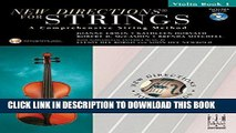 PDF] New Directions for Strings Violin Book 1 Popular Online