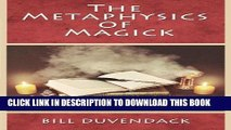 [PDF] The Metaphysics of Magick Popular Collection