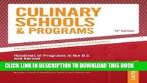 Best Seller Culinary Schools   Programs: Hundred of Programs in the U.S and Abroad (Peterson s