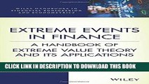 [READ] EBOOK Extreme Events in Finance: A Handbook of Extreme Value Theory and its Applications