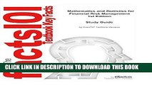 [FREE] EBOOK Mathematics and Statistics for Financial Risk Management  Mathematics, Mathematics