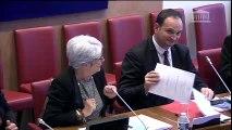 Gisèle Biémouret : présentation du rapport sur l'accès aux droits sociaux.