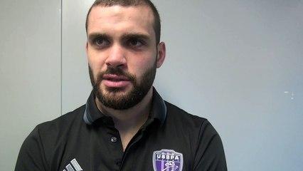 Rugby Fédérale 1 - Hugo Dupont réagit après USB - Roval Drôme XV