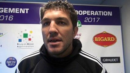 Rugby Fédérale 1 - Yoann Boulanger après USB - Roval Drôme XV