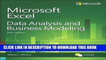 [FREE] EBOOK Microsoft Excel Data Analysis and Business Modeling (5th Edition) ONLINE COLLECTION