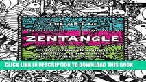 Ebook The Art of Zentangle: 50 inspiring drawings, designs   ideas for the meditative artist Free
