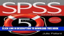 [DOWNLOAD] PDF SPSS Survival Manual: A Step by Step Guide to Data Analysis Using IBM Spss