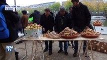A Paris des migrants toujours plus nombreux après le démantèlement de la jungle de Calais