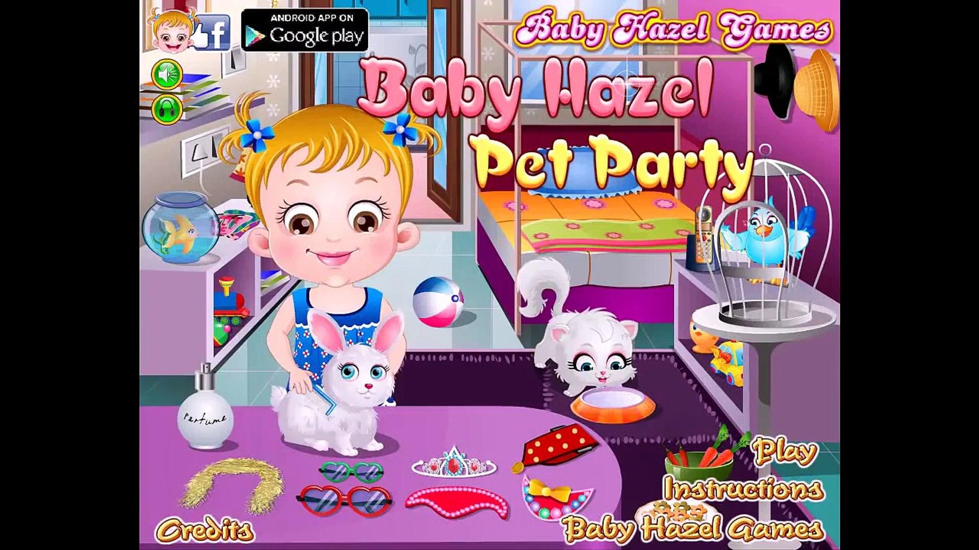 Baby Hazel Pet Party - Baby Hazel Games