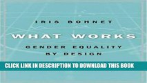 Best Seller What Works: Gender Equality by Design Free Read