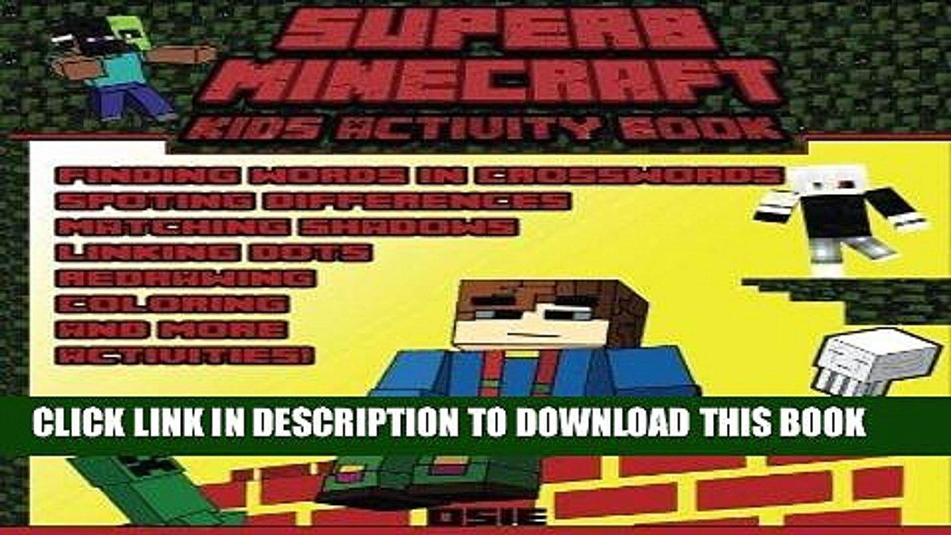 [READ] EBOOK Superb Minecraft: Kids Activity Book: Great Activity Book for Minecrafters (Minecraft