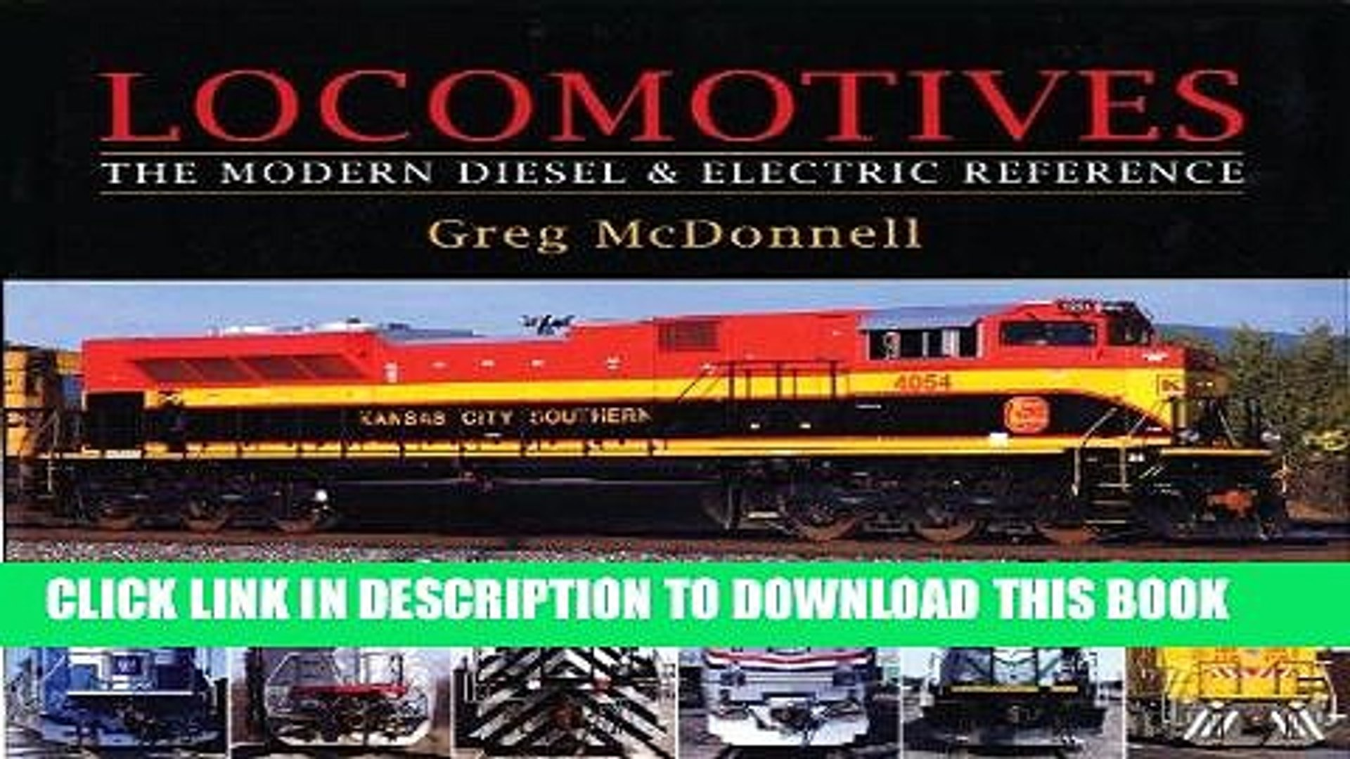 Locomotives The Modern Diesel and Electric Reference Professional ...