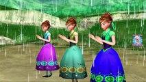 Frozen Elsa Singing Rain Rain Go Away   Nursery Rhymes For Kids   Frozen Elsa Songs For Children