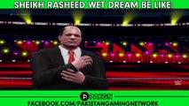 Sheikh Rashid Vs Nawaz Sharif Wrestling Match In 3D | Caution : You May Die Laughing