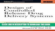 [READ] EBOOK Design of Controlled Release Drug Delivery Systems (McGraw-Hill Chemical Engineering)
