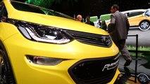 Opel Ampera-e Exterior Design in Yellow