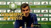 Conférence de presse Red Star  FC - Tours FC (3-1) : Rui ALMEIDA (RED) - Fabien MERCADAL (TOURS) - 2016/2017