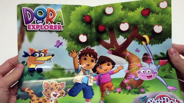 Play Doh Dora The Explorer Juguetes de Dora La Exploradora Plastilina Play-Doh Playdough Toys