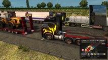 Convoy de Calais a Lyon Online #1   Euro Truck Simulator 2 online ETS2