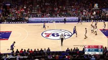 Joel Embiid Opens the Game With a Casual Three _ Hawks vs Sixers _ Oct 29, 2016 _ 2016-17 NBA Season