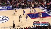 Thabo Sefolosha's Smooth Spin Cycle Layup _ Hawks vs Sixers _ October 29, 2016 _ 2016-17 NBA Season