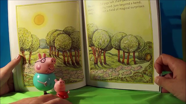 Peppa Pig English Episode Original – Peppa Pig and Daddy Pig read Playful Pigs ABC